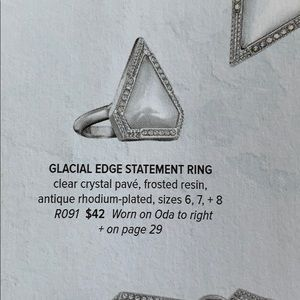 Chloe + Isabel Jewelry - Chloe + Isabel Glacial Edge Statement Ring